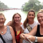 Hanoi, Vietnam with my girls