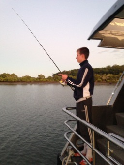 Joe Fishing