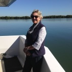 Me Jenny cruising on the Coomera River