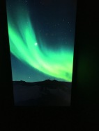 Southern Lights as seen from Mawson's Hut Antarctica