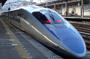 Japan-500-shinkansen-train